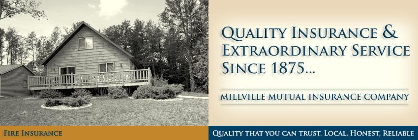 Millville Mutual Insurance - Fire Insurance